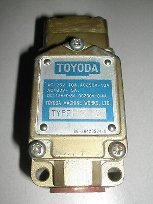 Toyoda Pressure Switch He-2 Used C60
