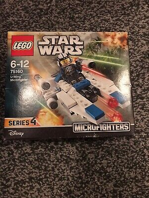 Star Wars Lego Series 4 Disney, U Wing Fighter,microfighters(75160)