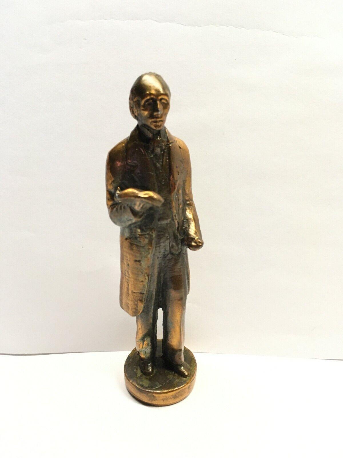 H.C. Andensen Copper Sculpture Statue 4-3/4 Denmark Labeled  - $30.00