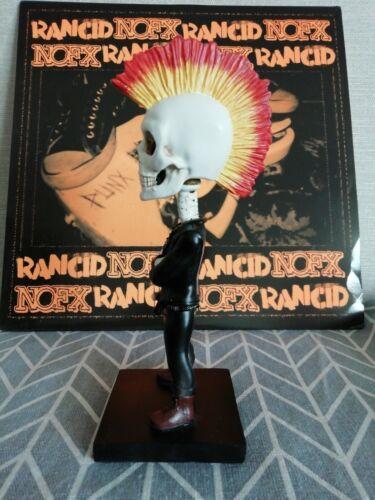 Aggronautix RANCID Skeletim Throbblehead Bobblehead  112/1000 Made Tim Armstrong