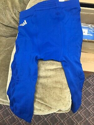 Adidas Blue Football Pants New Techfit Medium