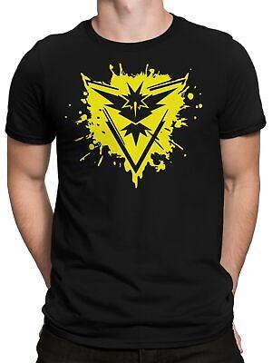 T-Shirt - Team Gelb Intuition Gaming Trainer-Shirt Instinct (Team Gelb)