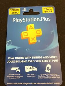 PlayStation Plus 12- months