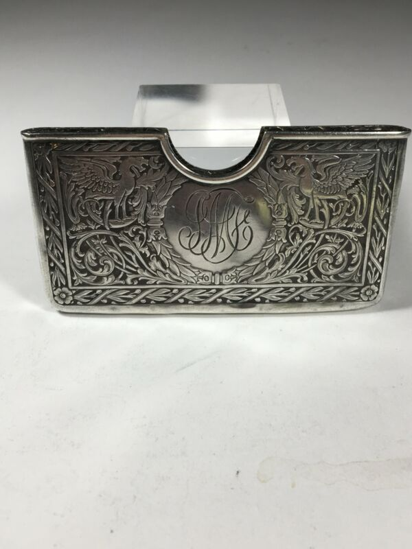 Antique Blackinton & Co. Sterling Silver Card Holder