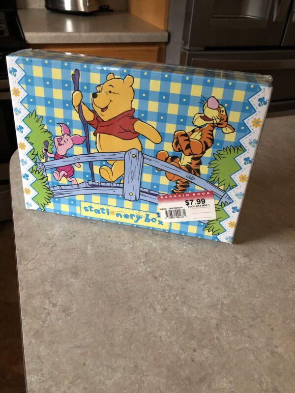 Disney Pooh Stationary Box NEW! NIP!