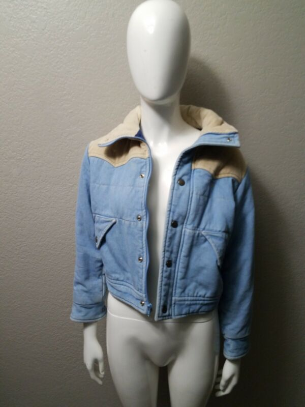 Op Winter Vintage Jean & Corteroid Childrens Jacket (SIZE MEDIUM)