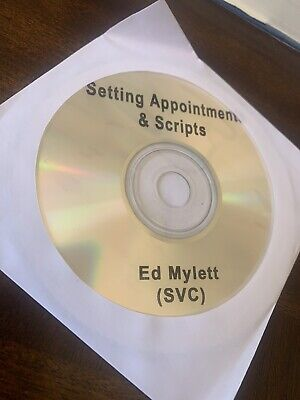Ed Mylett CD Setting Appointments & Scripts WFG  World Financial Group Insurance
