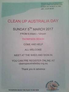 Clean Up Australia  - Thompson Beach Thompson Beach Mallala Area Preview