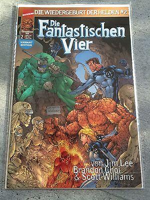 DIE FANTASTISCHEN VIER #2 VARIANT EDITION von Marvel Deutschland