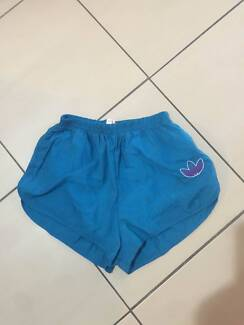 Women's Vintage Adidas Shorts Size 14 small fit Suit Size 12 VGC