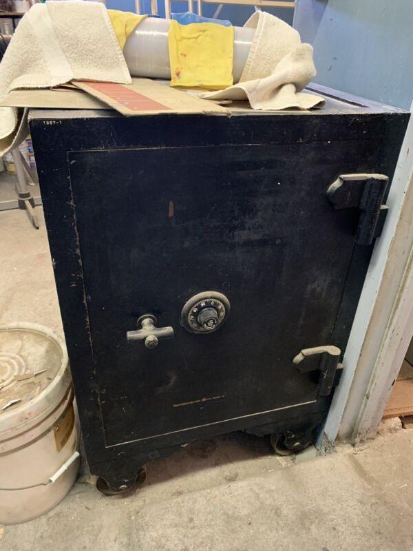 Antique Sargent & Greenleaf Safe