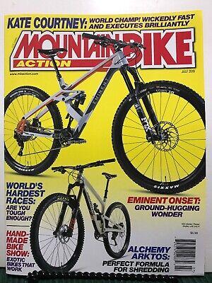 Mountain Bike Action Magazine World's Hardest Races July 2019 FREE SHIPPING JB Mountain Bike Action Magazine