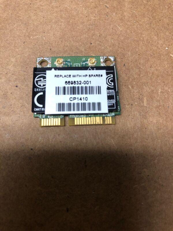 "HP ProBook 15.6"" 6570b OEM WiFi Wireless Card BCM943228HM4LP1 669832-001 GLP*"