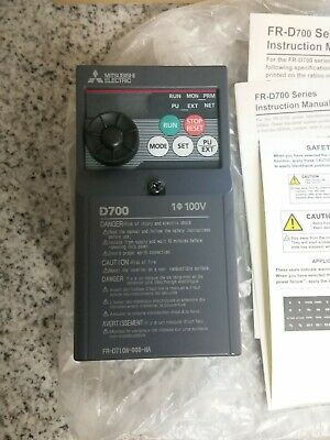 Mitsubishi Electric D700 Fr-d710w-008-na Vfd Variable Frequency Drive