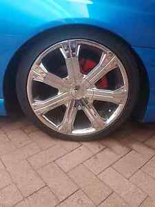 19inch rims off ford falcon Albion Park Shellharbour Area Preview