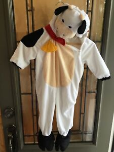 Size 2 Toddler Cow Halloween costume