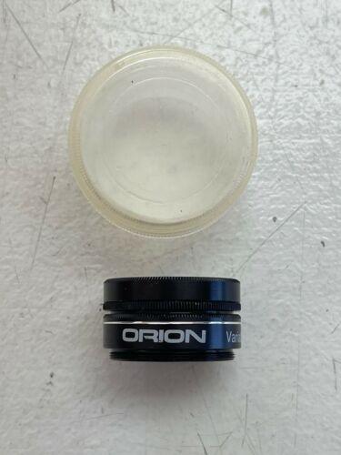 "Orion 1.25"" Variable Polarizing telescope eyepiece filter"
