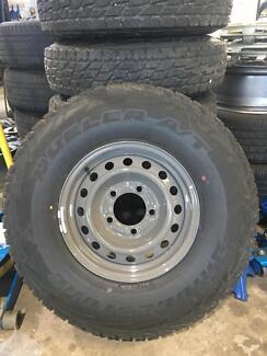 Brand new 225/75R16 Bridgestone D697 tyres