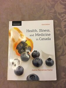 Health, illness and medicine in Canada