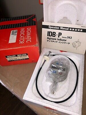 Mitutoyo Digimatic Indicator Code No. 543-164 Idb 112pe .0001-.5 0.001mm-12.mm