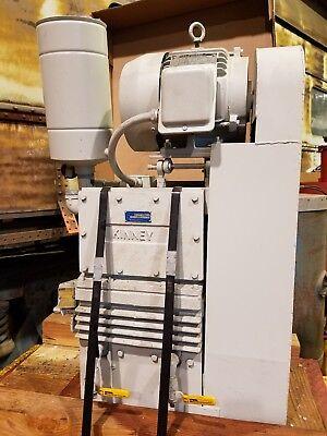 Tuthill Kinney Ktc-60 Two-stage Triplex Rotary Piston Vacuum Pump 60 Cfm