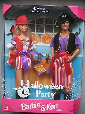 HALLOWEEN PARTY BARBIE and KEN - TARGET Special Edition Gift Set 1998 NRFB