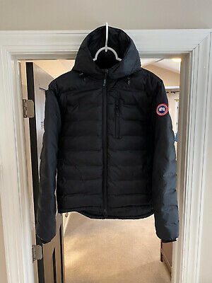 Canada Goose Lodge Hoody - Excellent - Men's Medium - Black - Authentic