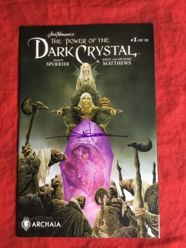 JIM HENSON'S POWER OF THE DARK CRYSTAL #1~SIGNED BY JAE LEE~ARCHAIA STUDIO~C