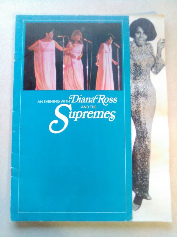 DIANA ROSS AND THE SUPREMES 1968 LOVE CHILD TOUR CONCERT PROGRAM BOOK