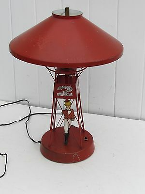 VINTAGE JOHNNY WALKER SCOTCH BUOY LAMP JOHNNY WALKER RED NO ARMS BUOY LAMP