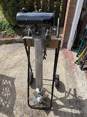 British Seagull Outboard Motor EngineSilver Centuary Plus Long Shaft 5 1/2 Hp