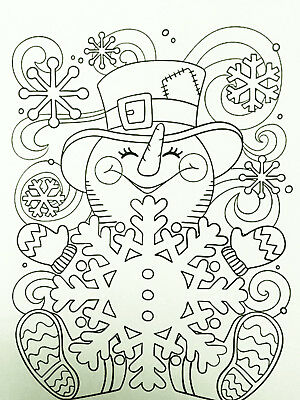 KID'S CHRISTMAS COLOURING PAGES - DOWNLOAD & PRINT - DIGITAL PDF - 50 PAGES ()