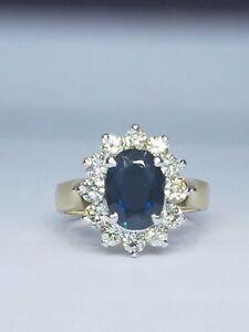 18 carot diamond and sapphires Auchenflower Brisbane North West Preview