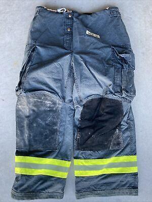 Firefighter Janesville Lion Apparel Turnout Bunker Pants 36x30 Black Costume 08