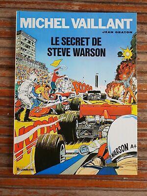 bande dessinée BD : MICHEL VAILLANT 28 le secret de steve warson