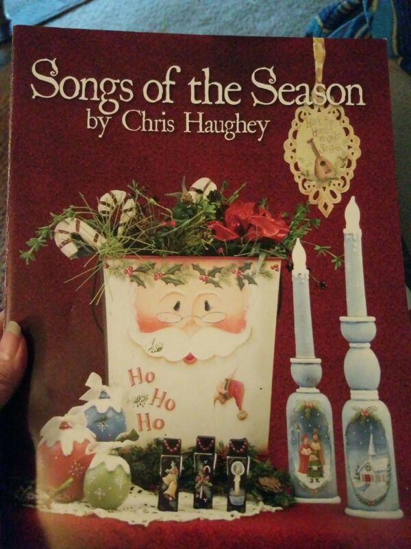 DECORATIVE TOLE PAONTING PATTERN BOOK SONGS OF THE SEASON