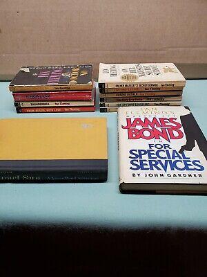 Lot Of Ian Fleming James Bond Books  12 total