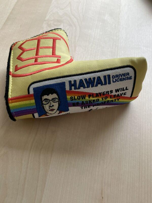 The Buck Club Golf TBC McLovin Superbad Hawaii License Blade Putter Headcover EP
