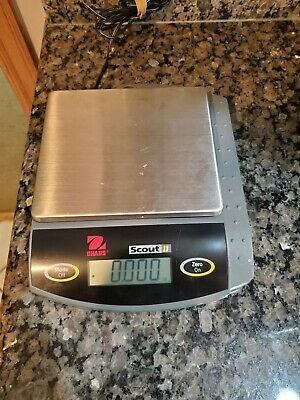 Ohaus Scout 2 Digital Scale Sc6010