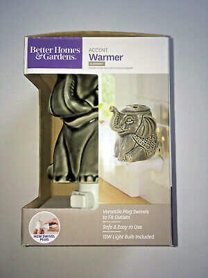 Better Homes and Gardens Accent Wax Warmer Elephant -