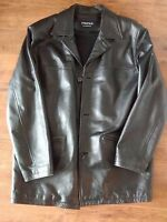 Brand New 100%leather 3/4 thinsulate jacket