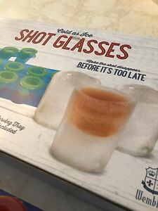 Make your own Ice Shot Glasses