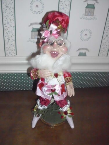 """MARK ROBERTS 2019 SMALL VALENTINE FOREVER ELF- #174/250-. 12""""H-NEW"""