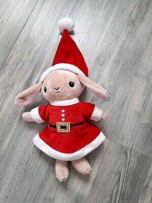 Kuscheltier Stofftier Nikolaus Weihnachten Kostüm * H&M Kaninchen - Kaninchen Baby Kostüme