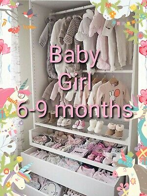 Baby Girl Clothes Make Your Own Bundle Size 6-9 Months Dress Snowsuit Coat