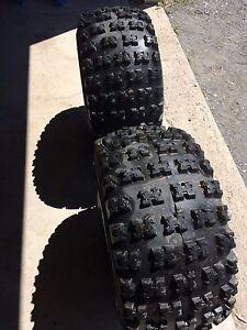 Almost new razr tires