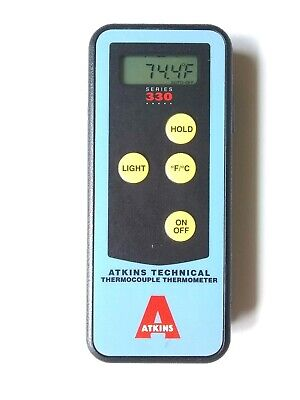 Atkins Technical Thermocouple Thermometer Series 330 Nsp1132-0 Euc