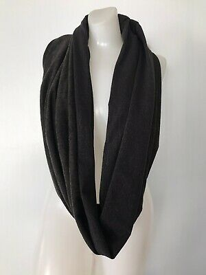 LULULEMON Vinyasa Scarf Women's Scarf One Size Black/Green NEW w/Tags $58