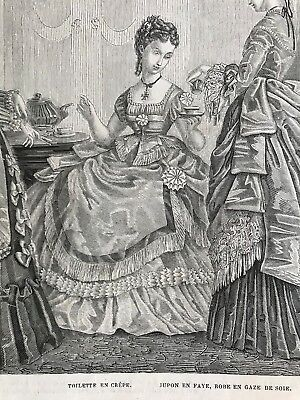 DIGITAL PATTERNS 1870-1879- MODE ILLUSTREE SEWING PATTERNS