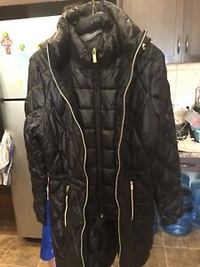 New black winter coat